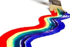 De verf van de regenboog Royalty-vrije Stock Foto's