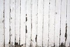 De verf van de schil op houten omheining Stock Fotografie