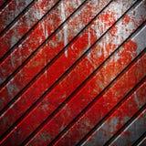 De verf van Grunge op metaal Royalty-vrije Stock Afbeelding