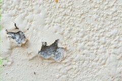 De Verf van de schil op Muur royalty-vrije stock afbeeldingen
