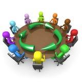 De Vergadering van de ecologie Royalty-vrije Stock Afbeelding
