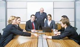 De Vergadering van de raad stock afbeeldingen