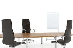De vergadering van het bureau Stock Afbeeldingen