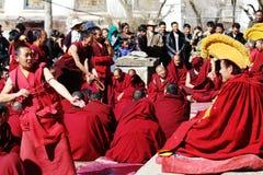 De vergadering van het Heilig Schriftdebat van Sera Monastery Royalty-vrije Stock Fotografie