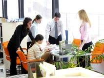 De vergadering van het personeel Royalty-vrije Stock Afbeeldingen