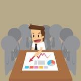De vergadering van het zakenmanteam Royalty-vrije Stock Afbeelding