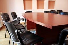 De vergaderingsbureau van het bureau Royalty-vrije Stock Foto
