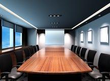 De vergaderingsruimte van het bureau Stock Foto's