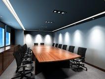 De vergaderingsruimte van het bureau Royalty-vrije Stock Afbeeldingen