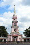 De verheffing van de dwarskozakkathedraal in Heilige - Petersburg Royalty-vrije Stock Afbeelding