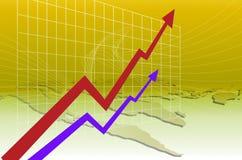De Verhoging van het voordeel Royalty-vrije Stock Foto's