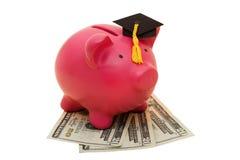 De verhoogde Kosten van het Onderwijs Stock Foto's