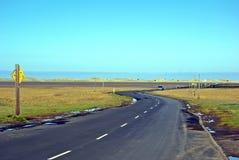 De Verhoogde weg van Lindisfarne Royalty-vrije Stock Afbeeldingen