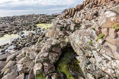 De Verhoogde weg van reuzen, Noord-Ierland royalty-vrije stock afbeeldingen