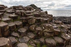 De Verhoogde weg van reuzen, Noord-Ierland royalty-vrije stock foto's