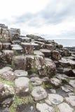 De Verhoogde weg van reuzen, Noord-Ierland royalty-vrije stock foto
