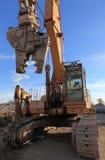 De verhuizer van de aarde met jackhammer Stock Foto