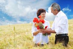 De verjaardag van het huwelijk Stock Fotografie