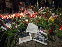 Jan Palach`s anniversary memorial