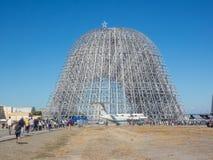 De Verjaardagsopendeurdag van Ames Research Center vijfenzeventigste van NASA Stock Foto