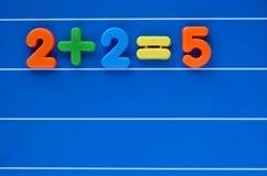 De verkeerde conclusie vector illustratie