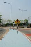 De verkeersteken Stock Foto