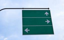 De verkeersteken van de weg Stock Afbeelding