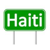 De verkeersteken van Haïti stock illustratie