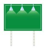 De Verkeersteken van het aanplakbord royalty-vrije illustratie