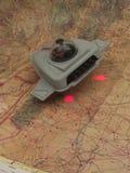De Verkenner van het UFO. Stock Afbeelding