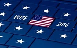 De verkiezing van de V.S. de volgende herfst Stock Afbeeldingen