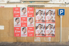 De verkiezing van Spanje 2016 Stock Foto's