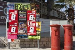 De verkiezingen aan Knesset 2013 Stock Afbeeldingen