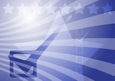 De verkiezingen van de V.S. Stock Foto