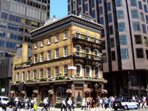 De verkleinde Bar van Londen Stock Foto