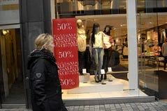 de verkoop gaat in nieuw jaar 2014 verder Stock Afbeelding