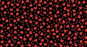 De verkoop van de achtergrond valentijnskaartendag rood met hart Rode romantische achtergrond voor groetkaarten of dekking voor d royalty-vrije illustratie