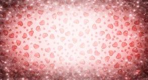 De verkoop van de achtergrond valentijnskaartendag rood met hart Rode romantische achtergrond voor groetkaarten of dekking voor d stock illustratie