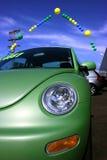 De verkoop van de auto stock foto