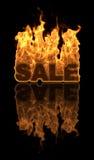De Verkoop van de brand Stock Foto's