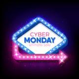 De verkoop van de Cybermaandag Stock Afbeelding
