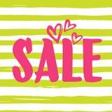 De verkoop van de de zomerwinter Stock Fotografie
