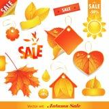 De Verkoop van de herfst. Stock Afbeeldingen