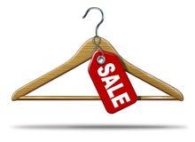 De Verkoop van de kleding vector illustratie