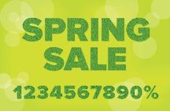 De verkoop van de lente Stock Foto's