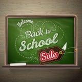 De Verkoop van de schoolraad Eps 10 Stock Foto