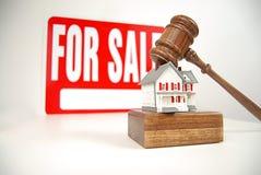 De verkoop van de veiling royalty-vrije stock afbeelding