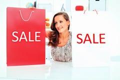 De verkoop van de verkoop Stock Afbeeldingen