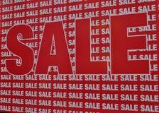 De verkoop van de verkoopverkoop royalty-vrije stock afbeeldingen