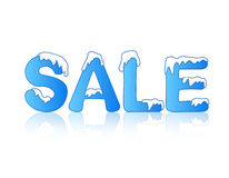 De verkoop van de winter vector illustratie
